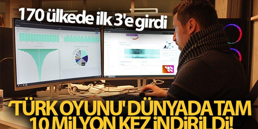'Türk oyunu' dünyada tuttu