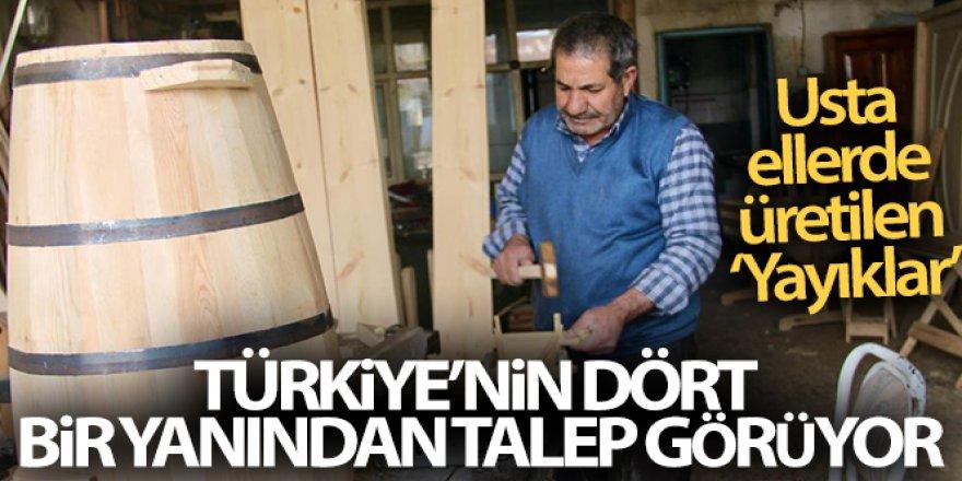 'Yayıklar' Türkiye'nin dört bir yanından talep görüyor