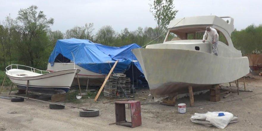 Pandemi dönemi ahşap tekne ve yat üretimine talep artırdı