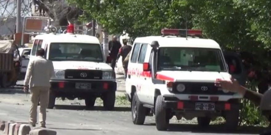 Afganistan'da patlama: 65 ölü