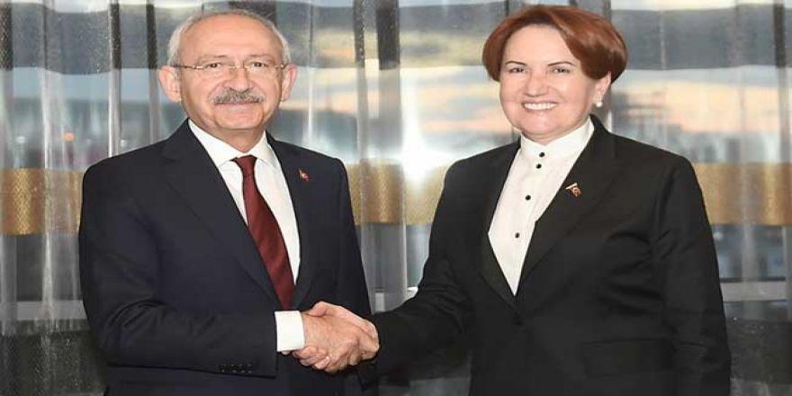 Kılıçdaroğlu, Meral Akşener'le iftarda bir araya geldi