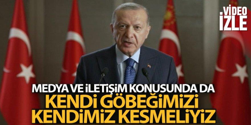 Cumhurbaşkanı Erdoğan Türk Konseyi Medya Forumuna katıldı