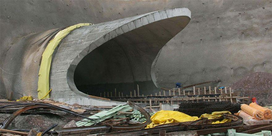 Karahisar Tüneli inşaatında sona gelindi