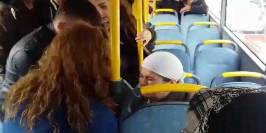 Fenalaştığı halk otobüsüyle hastaneye götürüldü