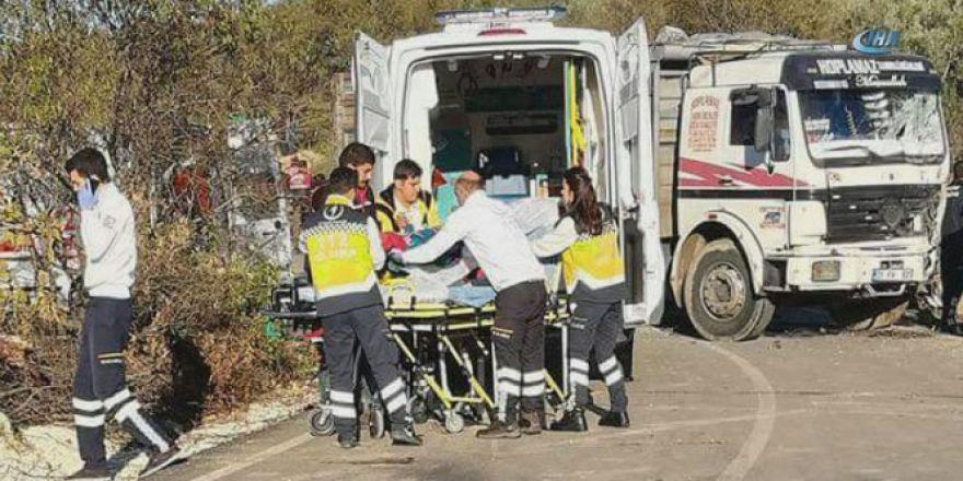 Hatay'daki feci kazada 11 kişi öldü, 9 kişi yaralandı
