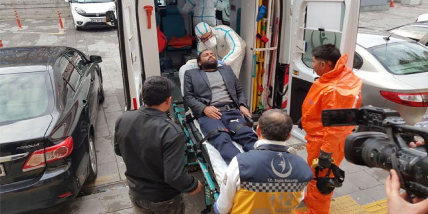 'Kimyasal saldırıya uğradım' deyince karantinaya alındı