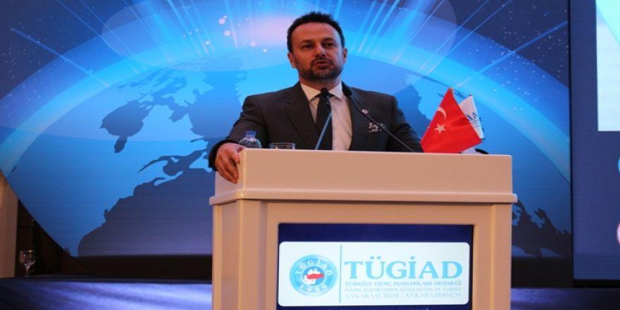 TÜGİAD Ankara Şubesinin Ekonomi toplantısında Ali Yücelen konuşması
