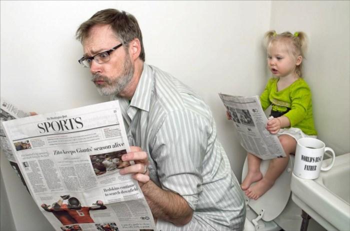 Dünyanın en iyi babası!